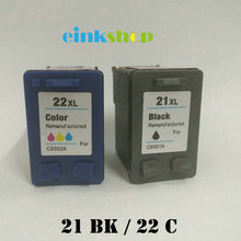 einkshop 21 22 xl Compatible Ink Cartridge Replacement for hp 21xl 22x Deskjet F2280 F380 F2100 F2240 F2180 D2360 Printer