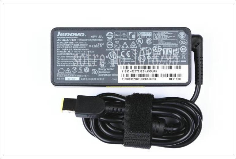 NEW 20V 3.25A 65W AC Power Adapter Charger For Lenovo ThinkPad E450 E550 E450C E455