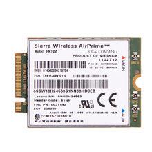 Sierra Wireless EM7455 4g LTE Gobi6000 Qualcomm Wireless LTE FDD WWAN IBM FRU: 00JT542 für Lenovo T460 T460p L560 Yoga 260 P50