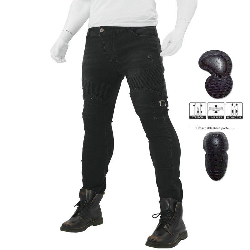 Loong biker pantalon de moto imperméable 114-8 jeans hiver a plastique vent moto cycle coastage jeans garçon jeans moto r pantalon