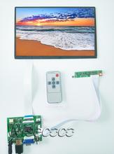 10.1 IPS for Raspberry Pi Monitor 1280*800 TFT EJ101IA-01G Driver Board Monitor HDMI VGA AV LVDS 2AV for Raspberry цена и фото