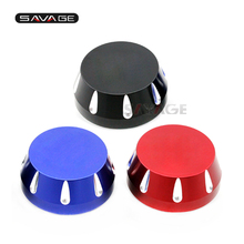 With GSXR Logo For SUZUKI GSX-R 600 750 1000 Motorcycle Accessories CNC Triple Tree Stem Yoke Center Cap Cover Blue/Black/Red