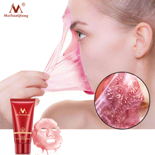 лучшая цена Purifying Deep Cleansing Peel Off Black Mud Facial Face Mask Remove Blackhead Facial Mask Acne Strawberry Nose Remover Face Care