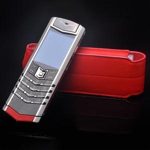 Image 5 - Роскошный чехол из натуральной кожи в деловом стиле с откидной крышкой для ведения атрибута S CEO 168 мобильный телефон, защитный чехол с полным покрытием, красный YBSV4
