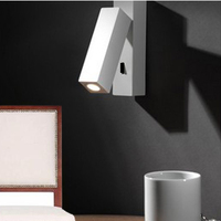 LED Nordic Alloy Acryl Designer LED Wall lamp Wall Light wireless wall lamp For Study Store Foyer Corridor Bedside Reading
