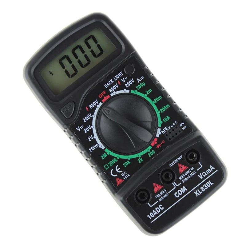 Digitális multiméter Voltmérő XL-830L LCD Multiméter Voltmérő - Mérőműszerek - Fénykép 5