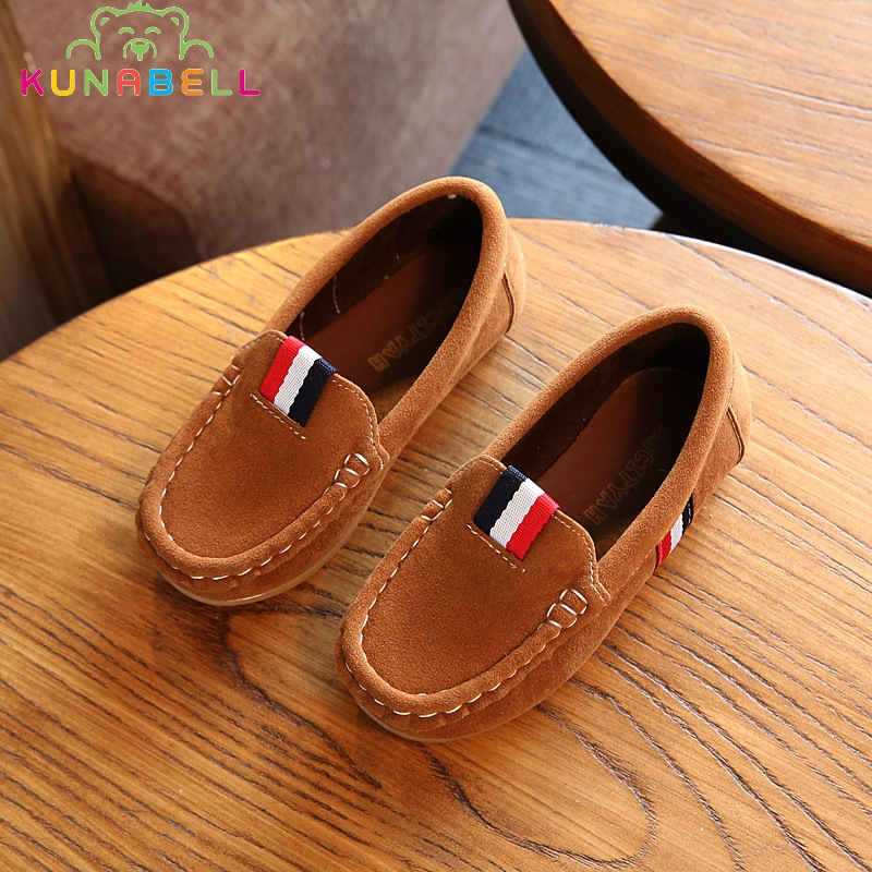 2017 New Spring Boys Children Shoes Kids Boys PU Leather Shoes Kids Moccasin Loafers Toddlers Casual