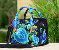 New Coming Embroidered Multi Use Bags Hot National Shopping Floral Embroidery Shoulder Handbags Women S Messenger