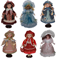 40 Cm Fashion Doll Gifts Lifelike Fantasy Style Ceramics Dolls Dress For Girl Friend Birthday Collection