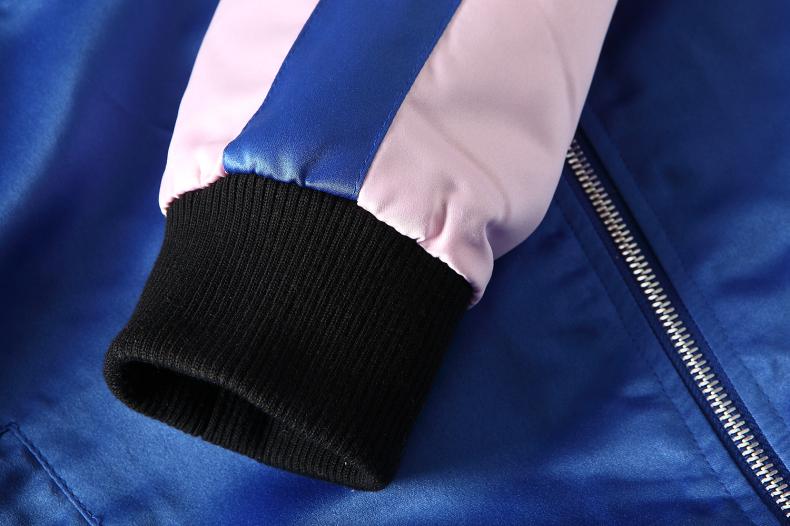Custom Embroidered Satin Jacket 10