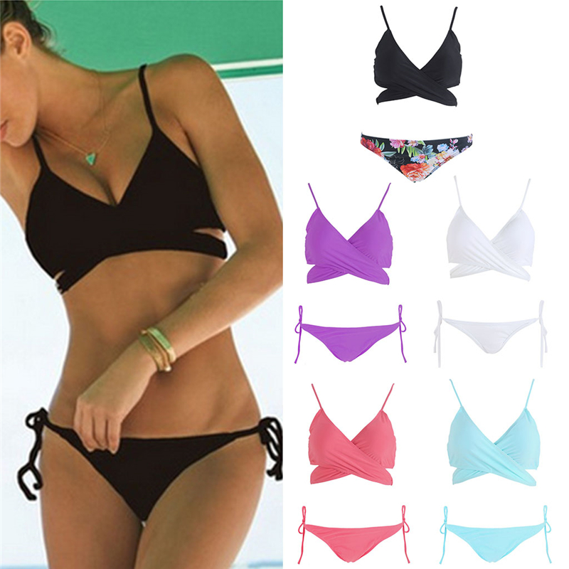 Bikini Set Summer Swimwear Women Sexy Beach Swimsuit Bathing Suit Push Up Brazilian Maillot Women's Intimates Brief Sets