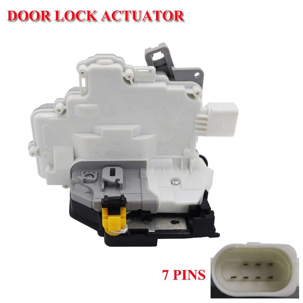 Для сиденья Leon (2005-2012) правый задний боковой дверной замок водителя с механизмом центрального замка-1P0 839 016 1P0839016