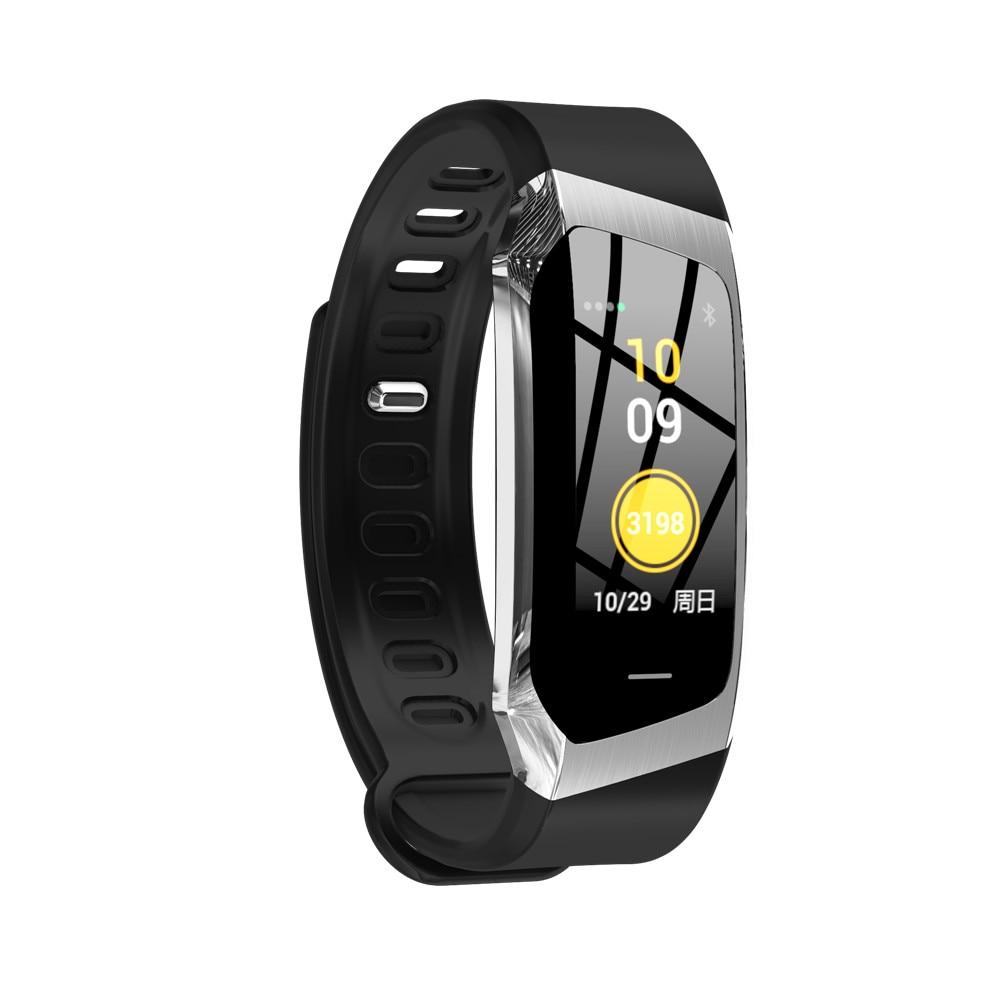 HTB1SCzWBZyYBuNkSnfoq6AWgVXap Greentiger E18 Smart Bracelet Blood Pressure Heart Rate Monitor Fitness Tracker smart watch IP67 Waterproof camera Sports Band