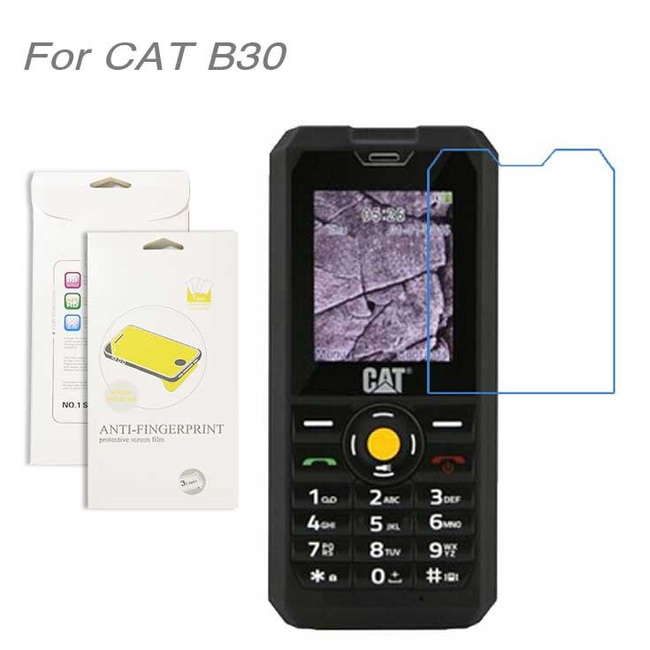 For CAT B30,3pcs/lot High Clear LCD Screen Protector Film Screen Protective Film Screen Guard For CAT B30