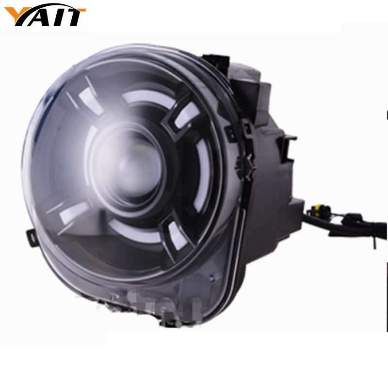Pair For 2015-2017 Jeep Renegade HID Headlight with DRL and Bi-xenon Projector For Jeep Renegade BU HID H4 Head hireno headlamp for mercedes benz w163 ml320 ml280 ml350 ml430 headlight assembly led drl angel lens double beam hid xenon 2pcs