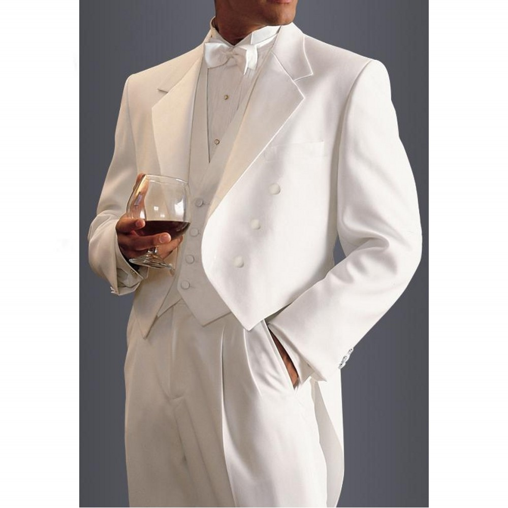 Online buy wholesale mens ivory suits from china mens for Mens ivory dress shirt wedding