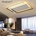 Современный белый + черный потолочный светильник  24 Вт  36 Вт  48 Вт  AC90-260V потолочный светильник с дистанционным управлением  2019