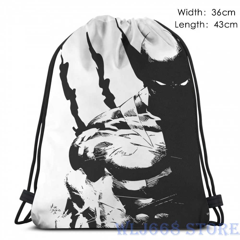 Gráfico engraçado impressão Sacos de ombro das mulheres O MELHOR NO QUE EU FAÇO T-Único ombro mochila de viagem para os homens saco de ginásio