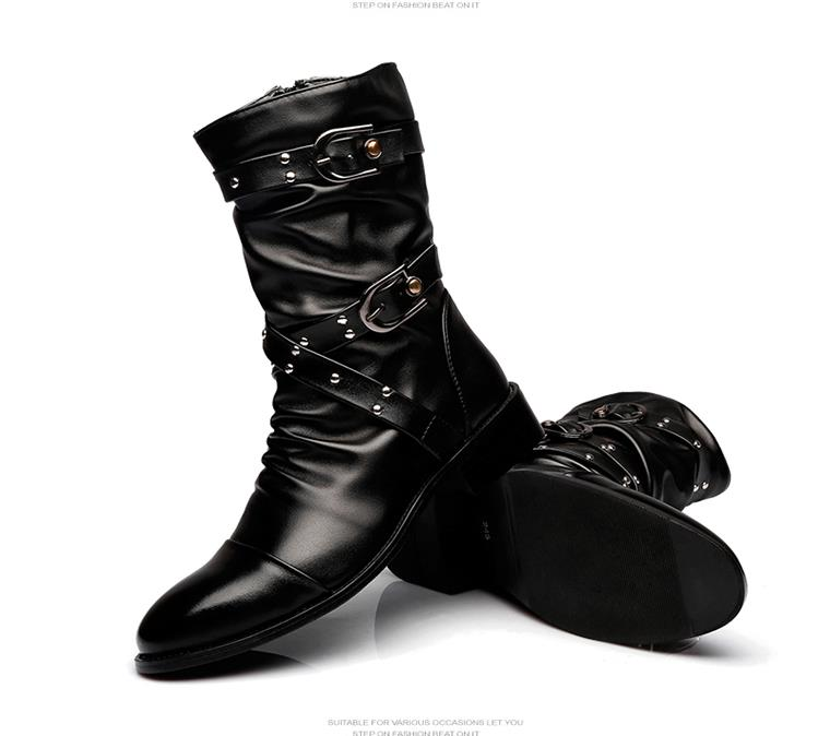 Fashion-men-spring-autumn-Motorcycle-Martin-Boots-British-Style-Gothic-Punk-Thick-Warm-Black-Shoes-Plus (3)