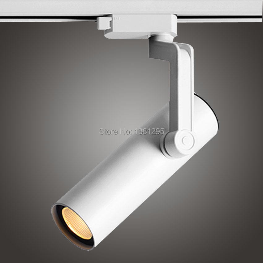 LED Track Spot Light System reflektor Rail LED Ceiling Track Spotlight Lamp 12W 20W 30W CREE Store Lights 2 3 Wire Phase Circuit