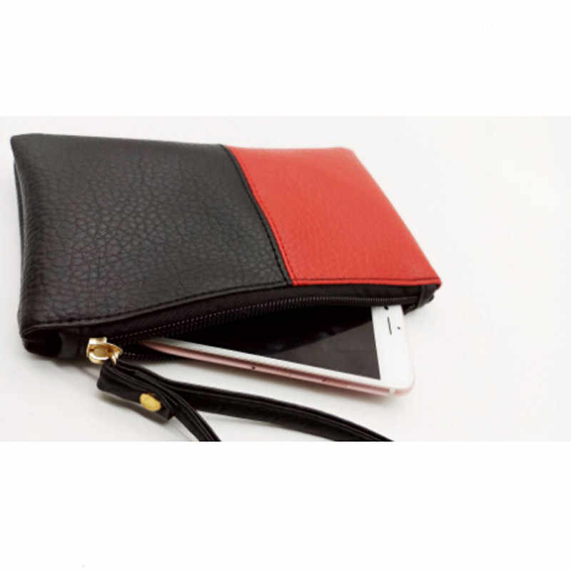 PU de Couro Bolsa Da Moeda Das Mulheres Carteira Pequena Mudança Bolsas Mini Zipper Sacos de Dinheiro Das Crianças Bolso Carteiras Chave Titular Carteira