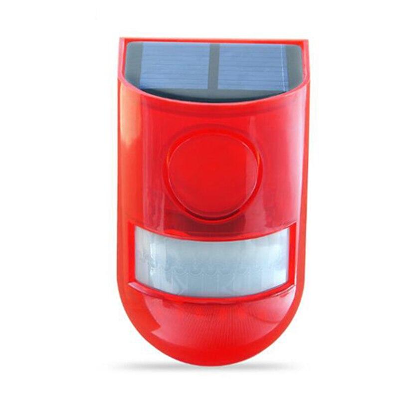 alarme 110db som aviso 6led luz vermelha