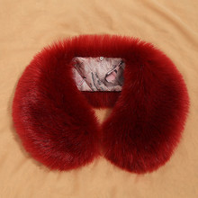 2018 Womens Winter Trench Coat Fur Collar Scarfs Soft Collar Luxury Lady Raccoon Fur Neck Collar Round Warm Scarves Female S5180(China)