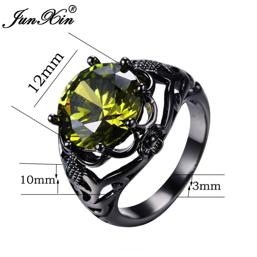hot charm rings gemstone sterling ring specifics product natural women stones fabulous peridot vintage jewelrypalace silver item wedding solid
