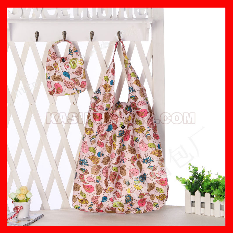 (200 pcs/lot) wholesale waterproof nylon makeup gift shopping bag women