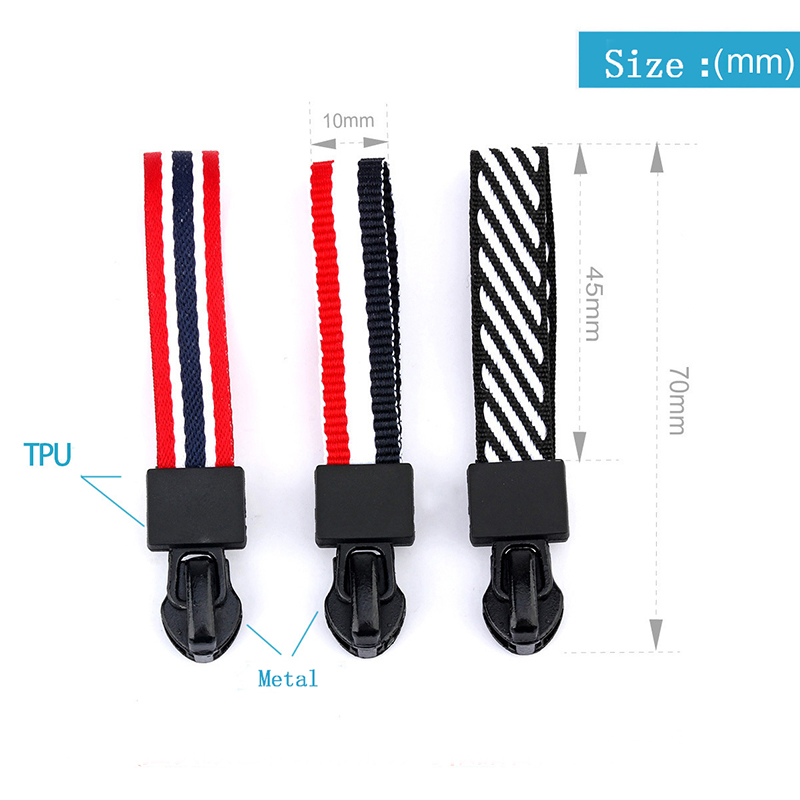 For Bag Puller Backpack Zippers Zipper Puller Jacket Tent Zip Cord Backpack Accessories Slider Cloth Replacement 100 pcs lot in Zipper Sliders from Home Garden