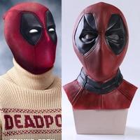 Marvel New Mutants Deadpool Wade Wilson Cosplay Costume Accessory Mask Helmet Cool Emulsion/Latex Mask Comicon Halloween Gift