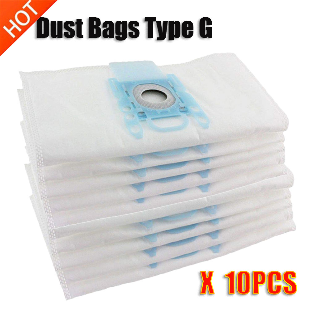 Vacuum Cleaner G 10Pcs/Lots Type G Cloth Dust Bags Typ G Fit Bosch Siemens BSGL3126GB BSG6 BSG7 GL30 Pro Energy Hoover Bag