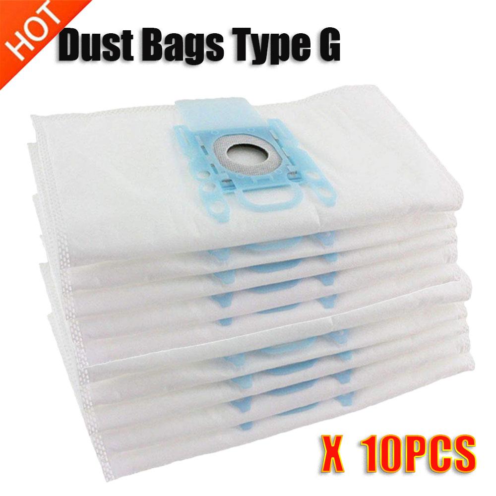 Vacuum Cleaner G 10Pcs/Lots Type G Cloth Dust Bags Typ G Fit Bosch Siemens BSGL3126GB BSG6 BSG7 GL30 Pro Energy Hoover Bag