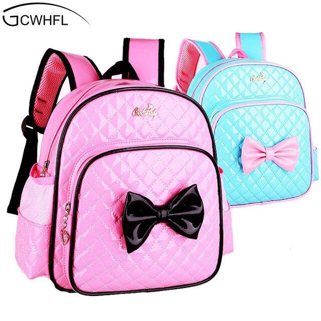8a53bd697cac6 2-7 lat Dziewczęta Przedszkole Dzieci Tornister Księżniczka Różowy Cartoon  Plecak Dziewczynek Torby Szkolne Dzieci