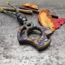 Titanium Bottle Opener EDC Men and Women Self-defense Survival Tool Multi Tools titanium bottle opener edc men and women self defense survival tool multi tools