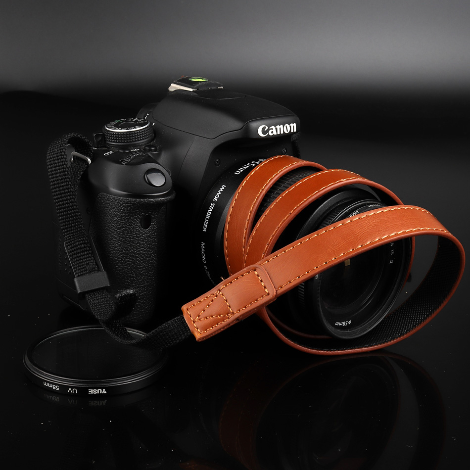 Canon EOS DSLR Camera Adjustable Shoulder Neck Strap for EOS 600D