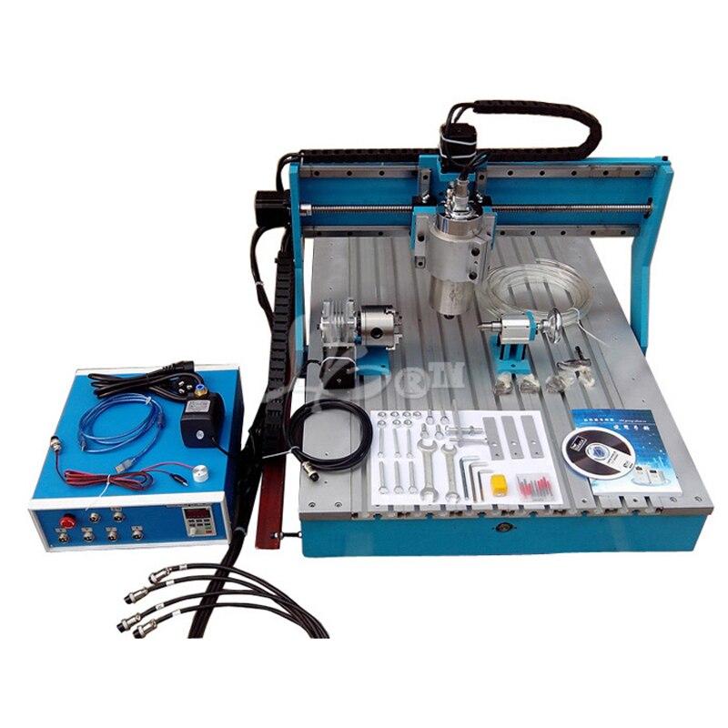 CNC fraiseuse 6090 CNC routeur avec guide de revêtement de balle srcew