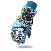GLV846 6 12years children wind proof primary and middle school students winter ski font b gloves