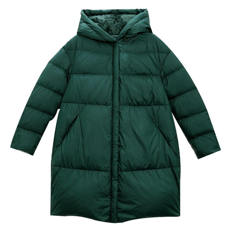 Large Roi À Nouvelle 2018 Duvet Longue Solide Manteaux Canard Blanc Taille Arrivée Complète Vert Aporie De nfAUSSYx