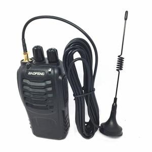Image 4 - Mini antenna high gain SMA F UV dual segment 144/430 antenna for  Baofeng BF UV5R BF888S UV82 UV6R radios