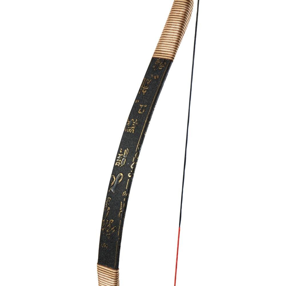 Toptir à l'arc 30 ~ 50lbs tir à l'arc traditionnel arc classique chasse en plein air tir à l'arc long - 6