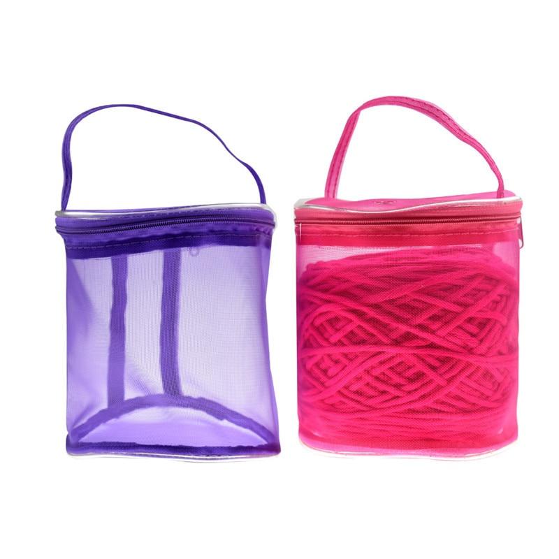 Portable Knitting Needle Storage Bag Oxford Cloth Waterproof Yarn Crochet Knit Bag Diy Craft Organizer For Thread Storage Arts,crafts & Sewing Diy Apparel & Needlework Storage