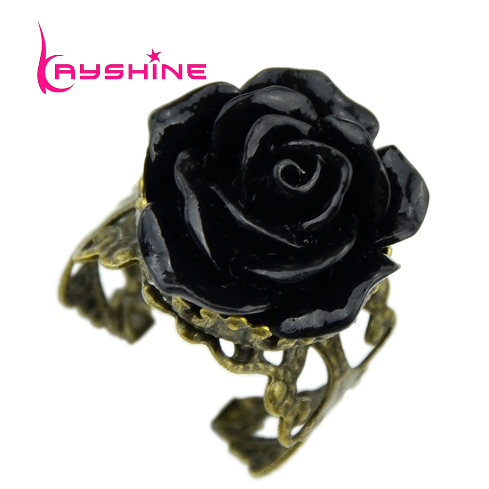 Kayshine gothic style vintage jewelry retro rings for Vintage style fashion rings