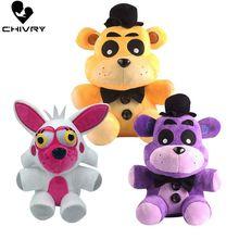 цена на 18cm~25cm Kids Lovely Novelty Soft Plush Toys Boys Girls Pillow Stuffed Animal Dolls Cute Cartoon Toys Children Birthday Gift