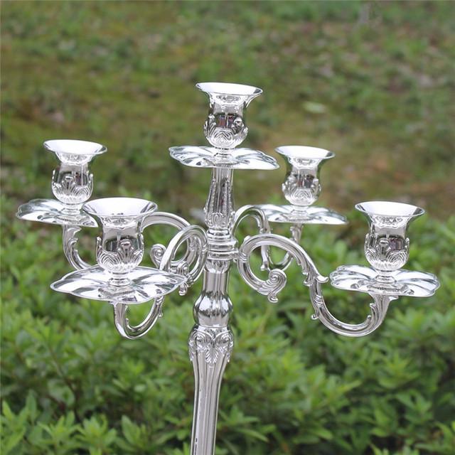 Silver Finish Candelabra