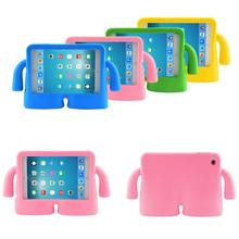 Shockproof Kids Child Handle Foam Case Cover for Apple iPad air 2 iPad 2 3 4 5 6 Cases Tablet Smart Stand Cover For mini3 2 1