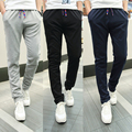 2017 Men exercise Pants Spring Thin Section Casual Pants Long Straight Active Mens Joggers, outside Sweatpants Size 5xl