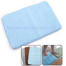 New Memory Foam Bath Shower Mat Water-absorbing Non-slip Rug Bathroom Carpet Free Shipping  $1.5 OFF for second item