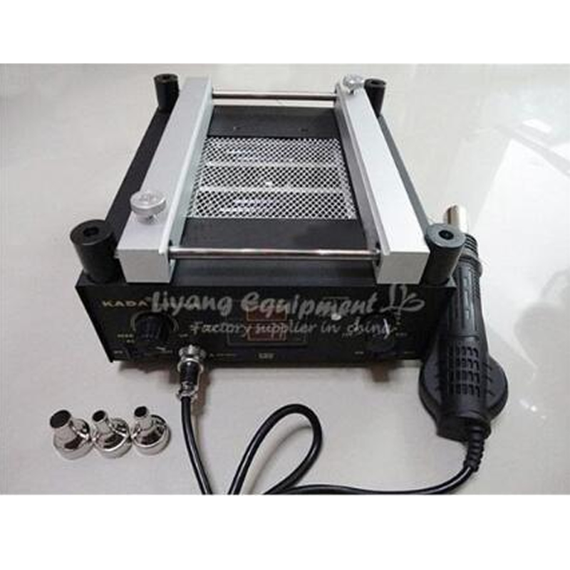 600W SMD Rework Soldering Pre-heating Station KADA 853A Warm-up Infrared rays Hot air gun600W SMD Rework Soldering Pre-heating Station KADA 853A Warm-up Infrared rays Hot air gun