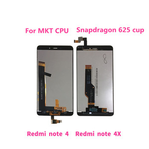 """Image 4 - 5.5"""" Original For Xiaomi Redmi Note 4X Note 4 Global Version Snapdragon 625 LCD Display+Touch Digitizer Frame For Redmi Note 4X"""